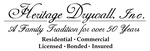 Heritage Drywall, Inc.