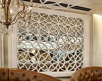 Faux plaster mirror grille - restaurant, Washington DC