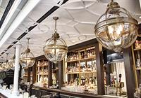 Faux plaster ceiling moulding - restaurant, Washington DC