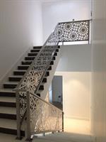 Aluminum handrail panels