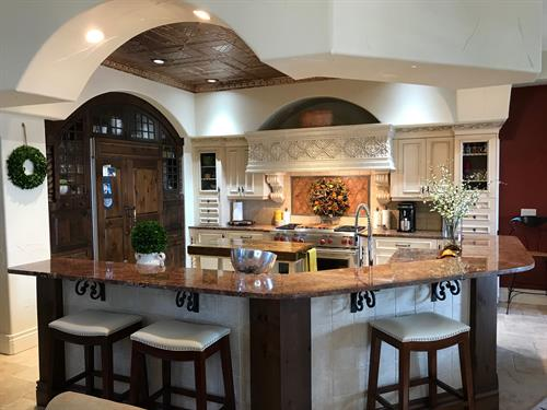 Custom Mediterranean Kitchen