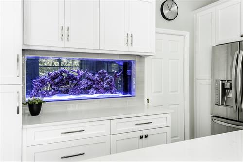 Kitchen Remodel with Fish Tank