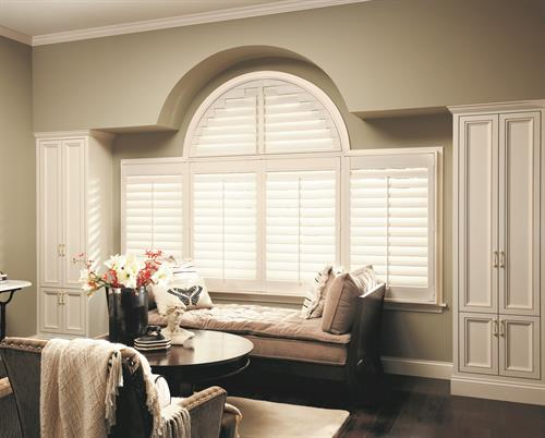 Shutters: We offer the largest variety and what we consider the finiest made shutters on the market.  From composite to wood and hundreds of color or stain options including custom colors.