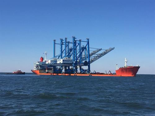Port Philadelphia ZPMC Crane Delivery