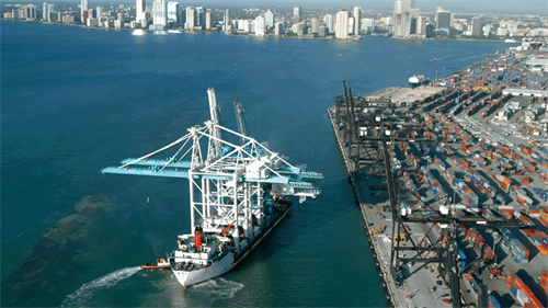 Port Miami ZPMC Offload