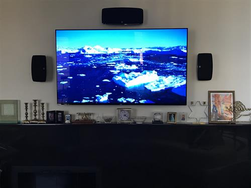 Upgraded Home Theater