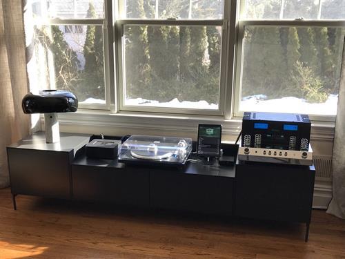 McIntosh Amp Installation
