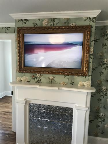 Framed Television