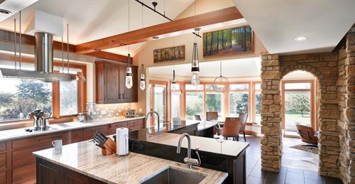 Open vista kitchen