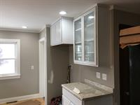 Kitchen remodel and reconfiguration