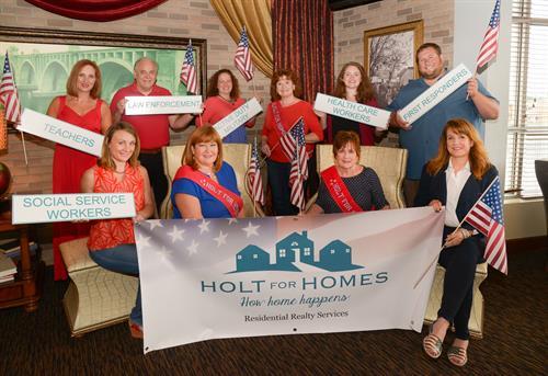 Our Holt for Heroes Rebate/Reward program