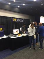 MI Robotics Exhibit in STEM Career Showcase at TIM Detroit 2017