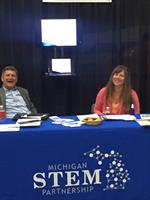 MI STEM Partnership Exhibit in the STEM Career Showcase at TIM Detroit 2017
