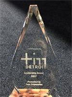 'The Leadership Award' won by MI STEM Partnership at Technology in Motion (TIM) Detroit 2017