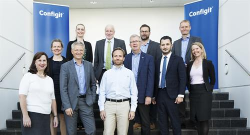 Michigan Lieutenant Governor Brian Calley visits Configit's headquarters in Copenhagen, Denmark.