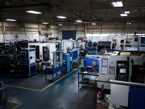 In-house machine shop