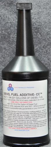 Diesel Fuel Additive - CC - Improves Fuel Economy & Reduces Emissions & Soot