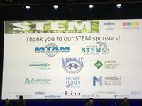 Sponsors of the MTAM-produced STEM Career Showcase at TIM Detroit 2017
