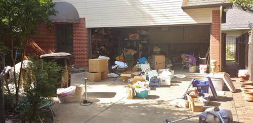 Overwhelmed with cleaning out your garage..Let JUNK KING do all the work