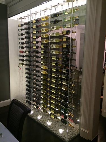 Modern Cable Wine Cellar