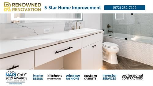 Dallas Bathroom Remodeling | Master Baths, Guest Baths, and Powered Rooms