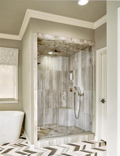 Forest Creek Master Shower