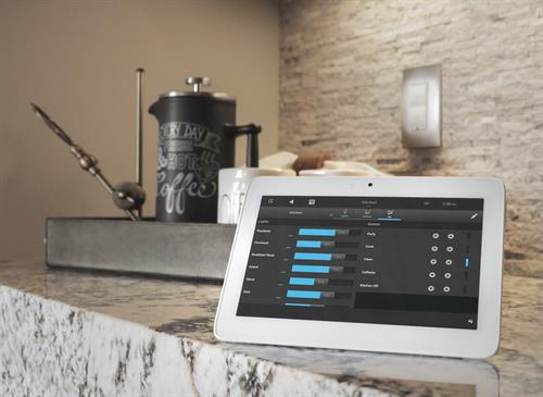 Control4 Automated Lighting System w/ Tablet Control