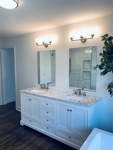 Finished Bathroom Remodel at Knollwood