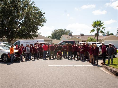 Secured Roofing is nothing without our well trained and hard working staff! We are blessed.