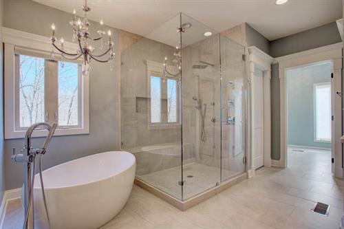 Best-of-Show Award-winning master bathroom remodel