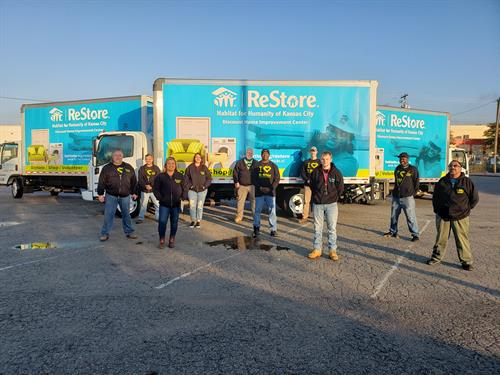 Logistics Team - donation pick-up for large bulky donations