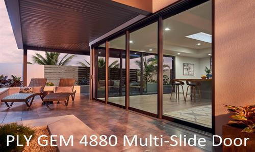 Ply Gem 4880 Multi-Slide Doors