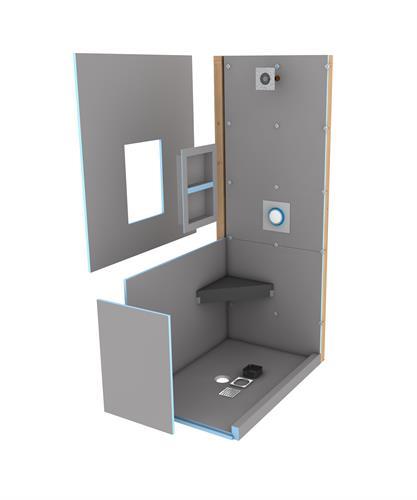 wedi Fundo Primo shower kit