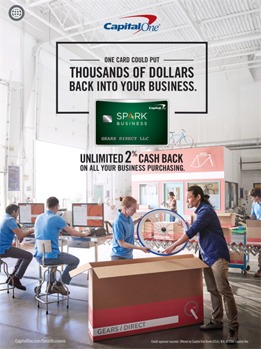 Capital One Spark Business Cash Card