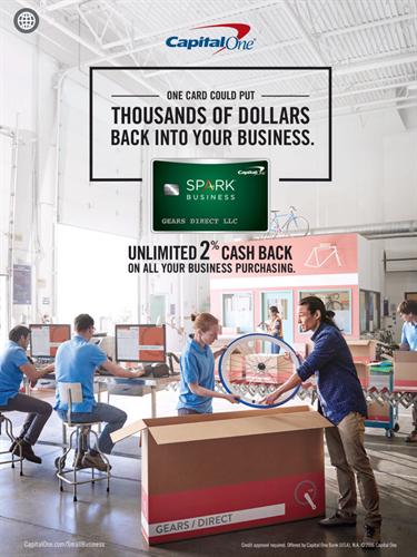 Capital One Spark Business Cash Card