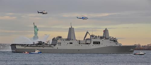 USS New York (with RSL Navigation Lights)