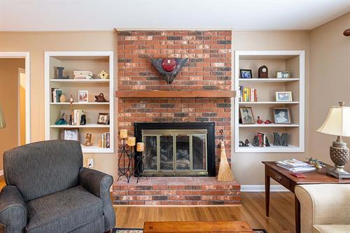 Clean Slate Living Room Remodel