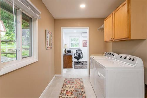 Clean Slate - Laundry Room and Office Remodel