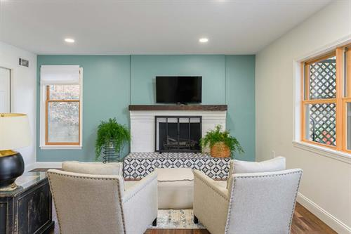 Modern and Breezy Basement Suite Remodel