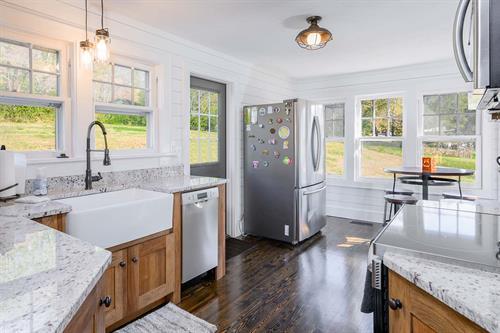 Rustic Modern Bungalow Kitchen Remodel