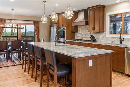 Elegant Estate Kitchen Island