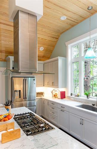 Tongue & Groove Kitchen Ceiling