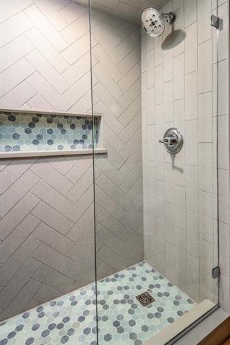 Cozy Cabin Master Bathroom Remodel