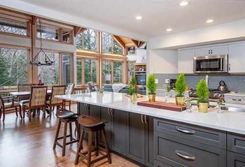 Modern Mountain Kitchen Remodel