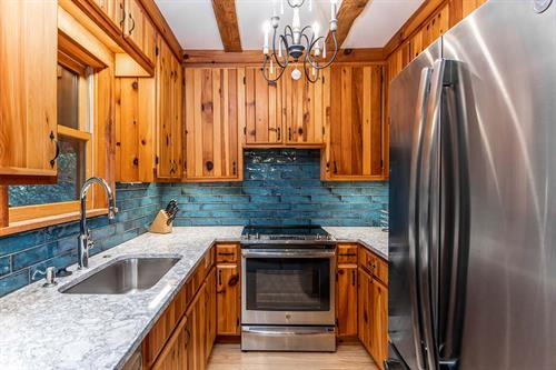 Cozy Cabin Kitchen Update