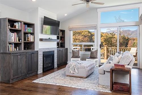 Modern Chic Living Room Renovation