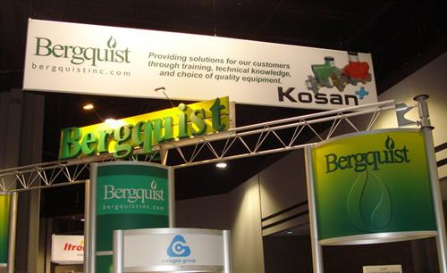 Our footprint at the Propane Expo in Nashville!