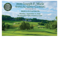 2020 Joseph F. Miele Annual Golf Classic Open for Registration