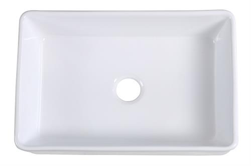 Single Bowl Fireclay Farmhouse Sink