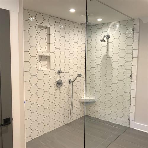 1960's Ranch Remodel - Master Bath Shower